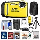 Fujifilm FinePix XP130 Shock & Waterproof Wi-Fi Digital Camera (Yellow)...