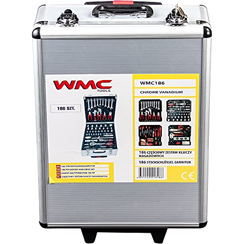 WMC TOOLS Werkzeug Set 186 teilig...