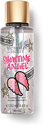 Victorias Secret Showtime Angel Floral Glittering blooms Sheer musk Get your wings 8.4 ounce Limited Edition
