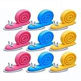 LHKJ 9 Pezzi Fermaporta di Lumache,Bambini Sicurezza Tappo del Portello Cartoon Lumaca Decorativo Fermaporta