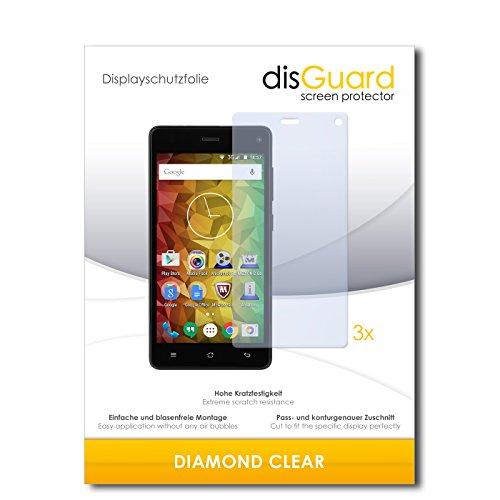 disGuard 3 x Schutzfolie Medion Life E5001 Bildschirmschutz Folie DiamondClear unsichtbar