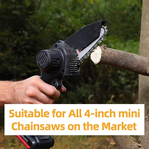 4 Inch Mini Chainsaw Chain , Chainsaw Blade for 4 Inch Mini Chainsaw Cordless Electric Handheld Rechargeable Battery Chainsaw