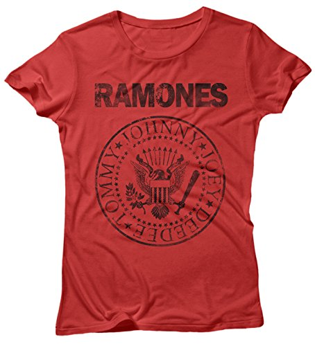 LaMAGLIERIA Camiseta para beb/és Ramones Grunge Black Print Baby t-Shirt 100/% Algodon