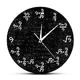 XXJL Ecuación matemática Matemáticas Matemáticas Reloj de Pared Moderna MERCADA MERCADA MATEMÁTICA MATEMÁTICA DE LA Pared DE LA Pared DE LA Pared pmx