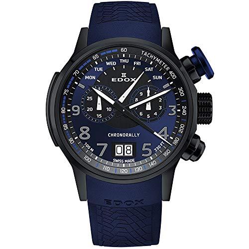 Edox Chronorally Reloj de Hombre Cuarzo 48mm 38001 TINNBUF3 BUF3