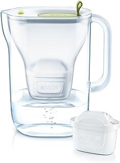 Brita 4006387080433 Carafe filtrante, Plastique, Citron Vert