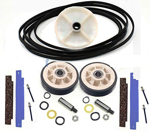 """NEW Dryer Repair Kit (WPY312959, 306508, 303373K 12001541 WP6-3037050) 100"""" Belt"""
