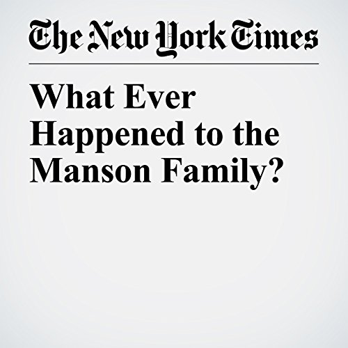 What Ever Happened to the Manson Family? copertina