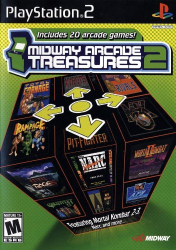Midway Arcade Treasures 2-(Ps2)