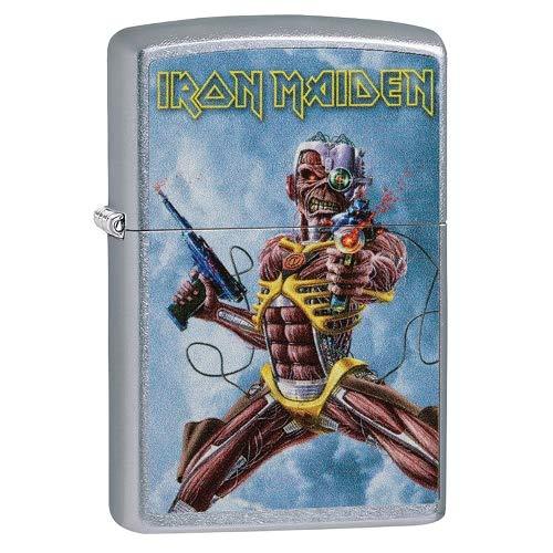 Zippo Iron Maiden Accendino, Ottone, Design, 5,83,81,2