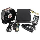 YHAAVALE 9200E Amplifier Police Siren & Metal Ultra Slime Octagon Compact Flat...