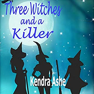 Three Witches and a Killer audiobook cover art