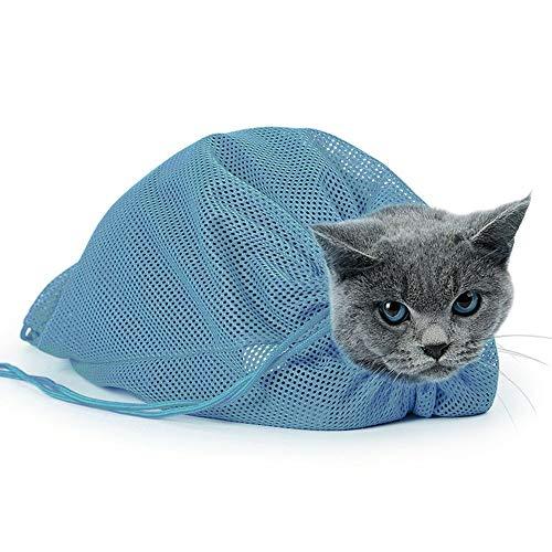 MEROURII Katzenbaby Beutel,Katze Pflegetasche Haustier Nagel Trim Beutel Katzenbadezimmertasche für Badekatzen Reise Haustierbedarf