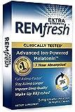 REMfresh Extra Strength 5mg Melatonin Sleep Aid Supplement (72 Caplets Total)   Sleep Supports Immune Function   #1 Doctor Recommended   Pharmaceutical-Grade, Ultrapure Melatonin
