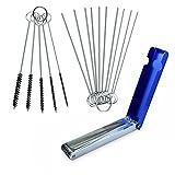 homEdge Kit de herramientas de limpieza para carburador de carburador para ATV, UTV, motocicleta, soldadura de carburador