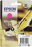 Epson C13T16234012 - Cartucho de tóner adecuado para WF2010, color magenta, paquete estándar válido para los modelos WorkForce WF-2530WF, WF-2540WF y otros, Ya disponible en Amazon Dash Replenishment