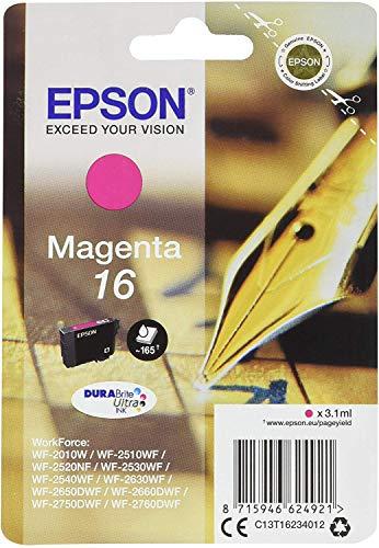 Epson 16 DURABriteUltra Ink- Cartuccia d'Inchiostro, Rosa (Magenta)