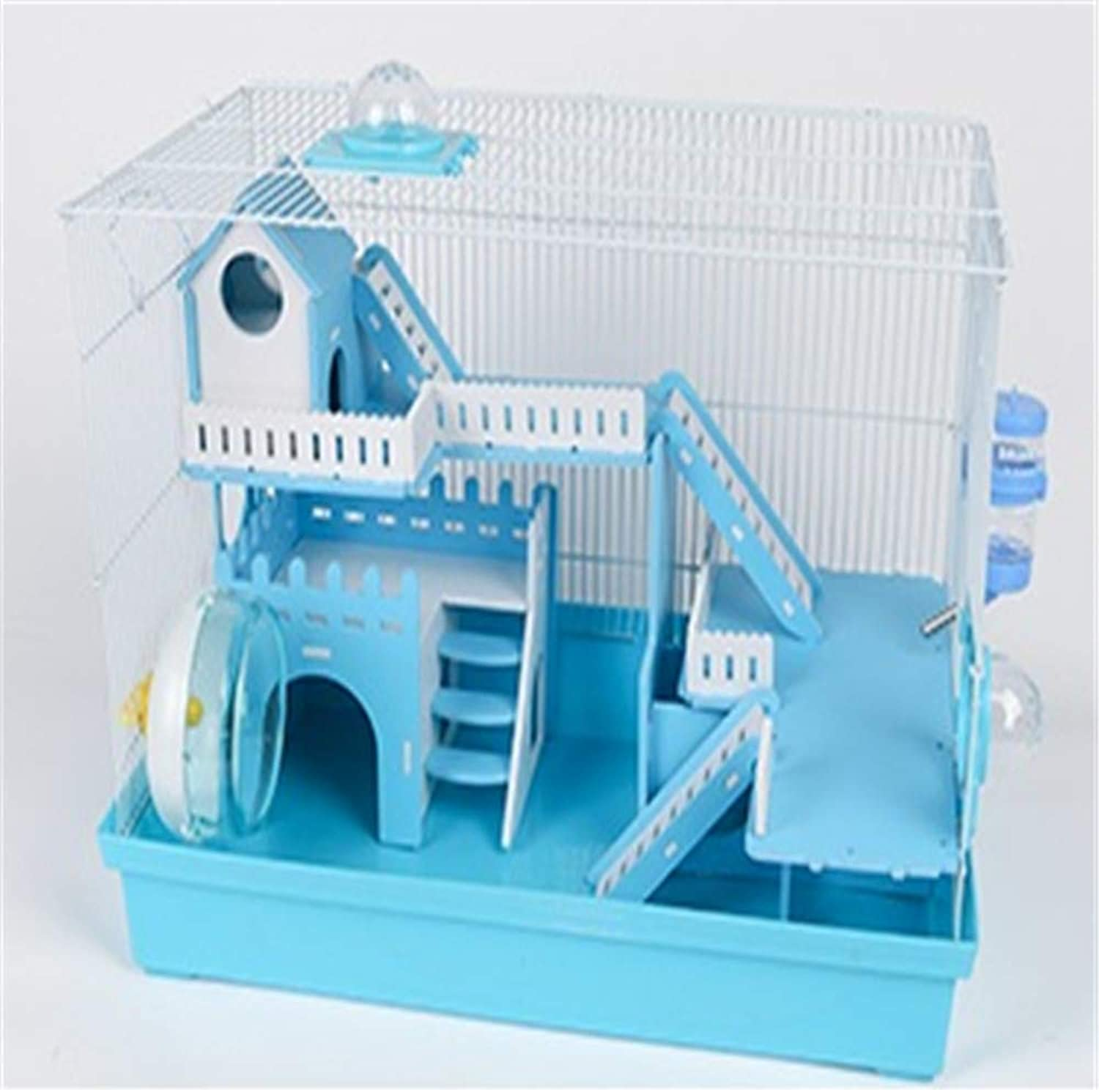 CSWO Harajuku Hamster Cage Hamster Cage Supplies Foundation Cage Acrylic Hamster Nest Villa