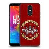 Head Case Designs sous Licence Officielle WWE Optez pour l'or 2 Wrestlemania 37 Logos Coque Dure...