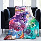 My Little Pony Blankets for Girl Kids Toddler Throw Plush Flannel Fleece Blanke 3D Pattern Merch Novelty Gift Fuzzy Soft 50'x40' for Couch Picnic