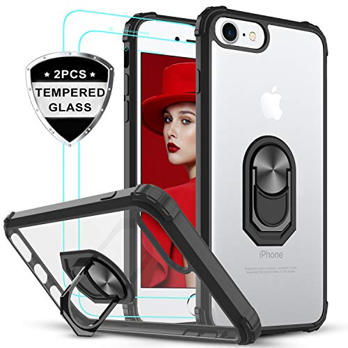 LeYi Funda iPhone SE 2020,Funda iPhone 7 / iPhone 8 con [2-Unidades]...