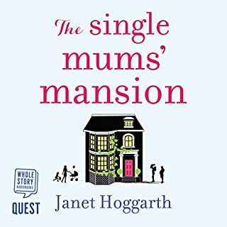 The Single Mums' Mansion audiobook cover art