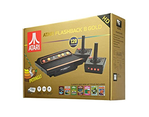 Import - Consola Retro Atari Flashback 8 Wireless HD (120 Juegos)