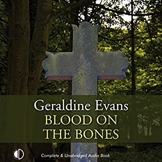Blood on the Bones audiobook cover art