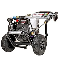 SIMPSON Cleaning MSH3125 S 3200 PSI at 2.5 GPM Gas Pressure Washer Powered with OEM Technologies Axial Cam Pump Review