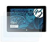 Bruni Schutzfolie kompatibel mit MSI S100 Folie, glasklare Bildschirmschutzfolie (2X)