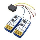 Festnight Kit di Telecomando per Telecomando per verricello Wireless Universale 12V da 12 V per Jeep ATV SUV