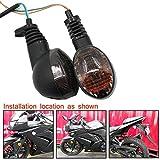 Motoparty Motorcycle Turn Signals For KAWASAKI EX250R NINJA 250R KLX250S...