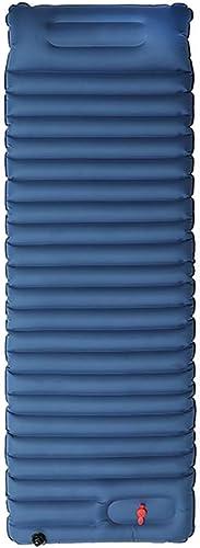 JGWHW Sleeping Pad Pillow - Le matelas pneumatique ultra confortable en mousse auto-gonflante est idéal pour les voyages, le camping et la randonnée, la randonnée, les berceaux, les hamacs, les tentes