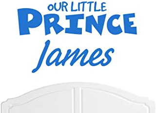Crown Prince James On Board Personalised Baby Boy Car Sign