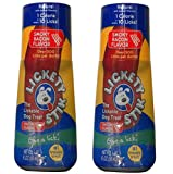 Pet Set of Two Lickety Stik Low-Calorie Liquid Dog Treats - Smoky Bacon