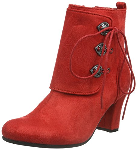 Hirschkogel Damen 3612711 Kurzschaft Stiefel, Rot (rot 021), 39