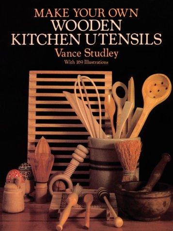 Make Your Own Wooden Kitchen Utensils