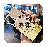 Doge Meme Kabosu Coque pour Huawei Honor 30 20 10 9 8 8x 8c v30 Lite View pro-a4-Huawei Y9 2019