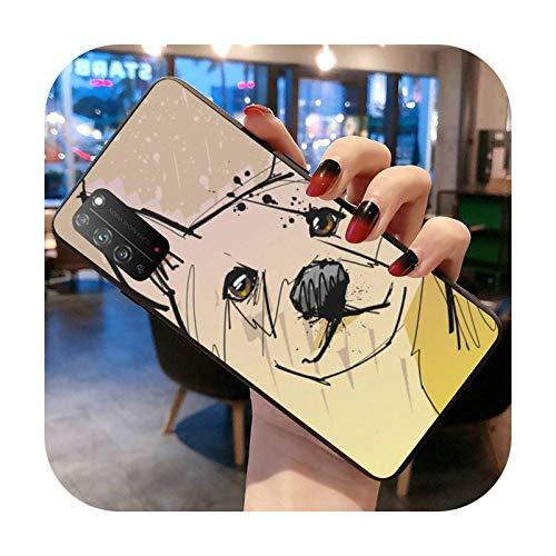 Doge Meme Kabosu - Carcasa para Huawei Honor 30 20 10 9 8 8x 8c v30 Lite view pro-a4-honor30
