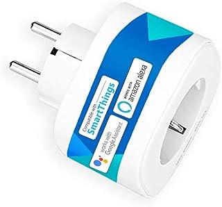 Presa Intelligente Wifi 16A 3680W Smart Plug Energy Monitor Protezione Sovraccarico, Funzione Timer, APP Controllo Remoto,...