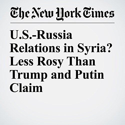 U.S.-Russia Relations in Syria? Less Rosy Than Trump and Putin Claim audiobook cover art