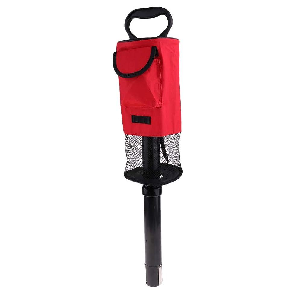 白菜モジュール専門用語Sharplace ゴルフボール ピックアップシャグバッグ ゴルフ 拾い 集球 収集器 取り外し可能 大容量