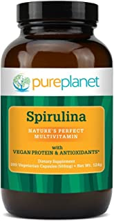 Pure Planet, Spirulina, 200 Count