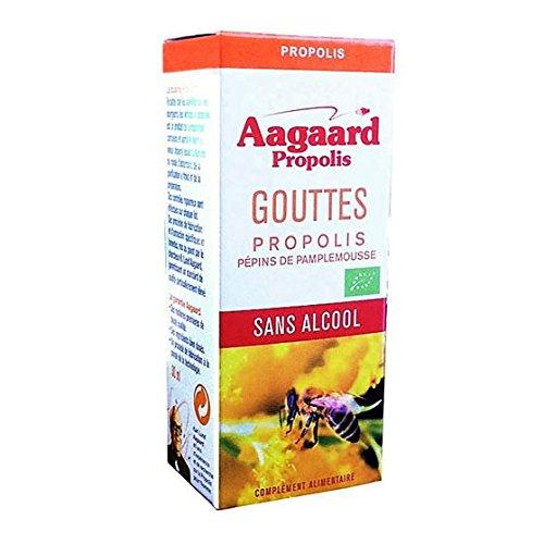 Aagaard Tropfen mit Propolis + Grapefruit-Samen, ohne Alkohol, 30 ml