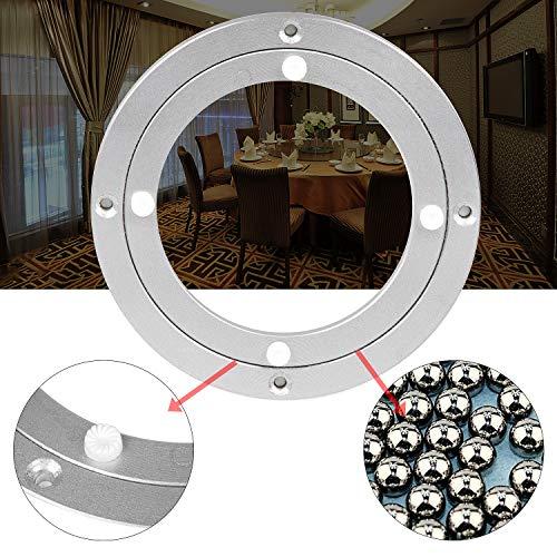 AMIGOB Drehscheibe Drehkranz für TV Tischplatte Drehteller Kugellager Lazy Susan für Esstisch Monitor (Ø250x10mm)/9.8 inch aus Aluminiumleigierung