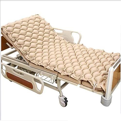 Nicekko Anti-decubitus-matrassen, verwisselbare rukmatras, medisch opblaasbaar verzorgingsbed, luchtkussen, medisch pvc-materiaal, met stille variabele drukpomp