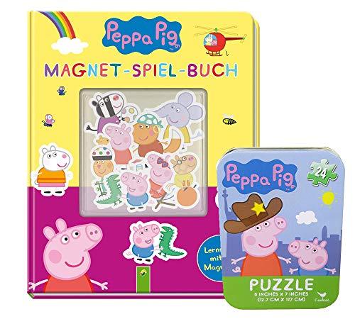 Buchspielbox Peppa Pig - Libro magnético para juegos (16 im