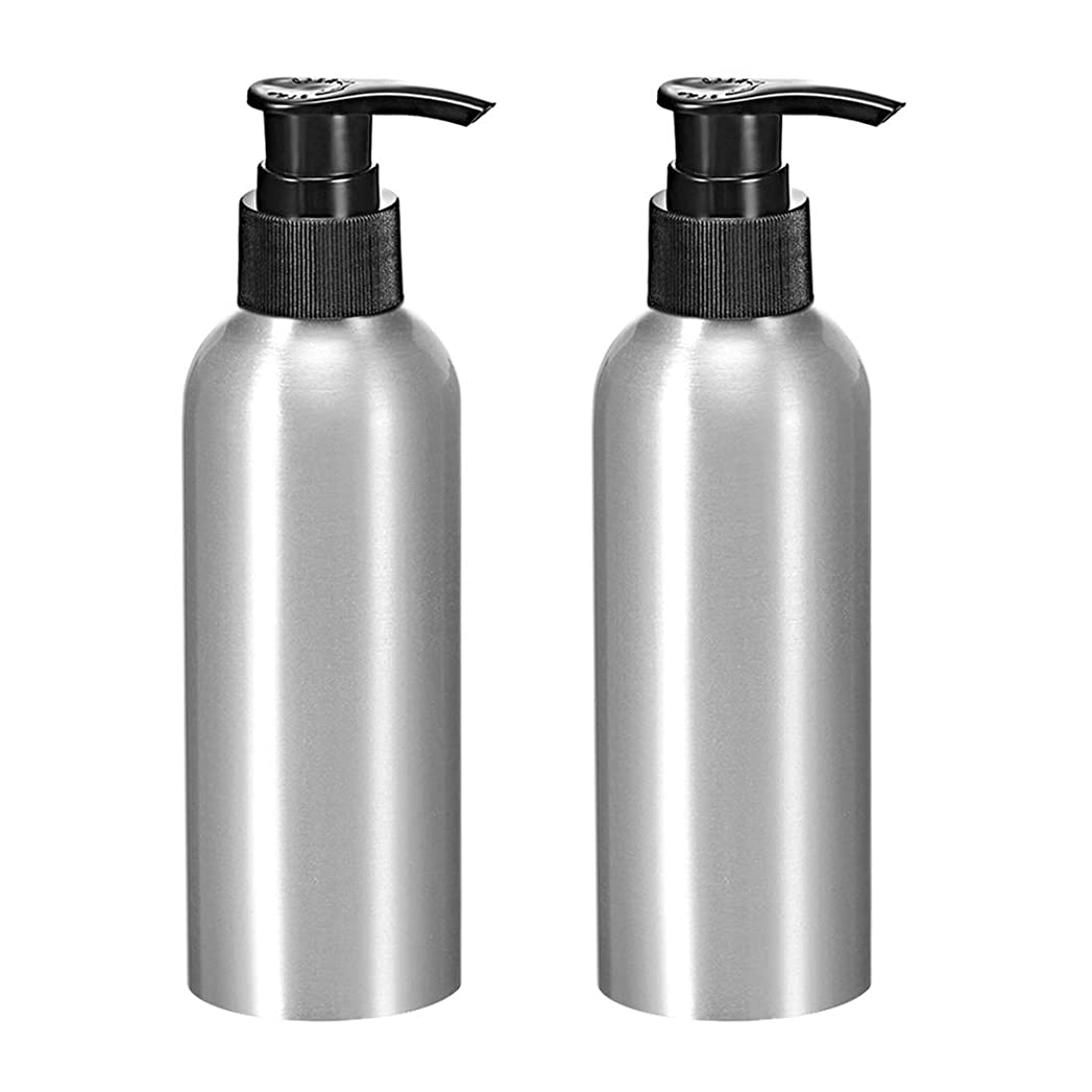 ラテン夫婦学んだuxcell uxcell アルミスプレーボトル 細かい霧のスプレーヤー付き 空の詰め替え容器 トラベルボトル 8.4oz/250ml 2個入り