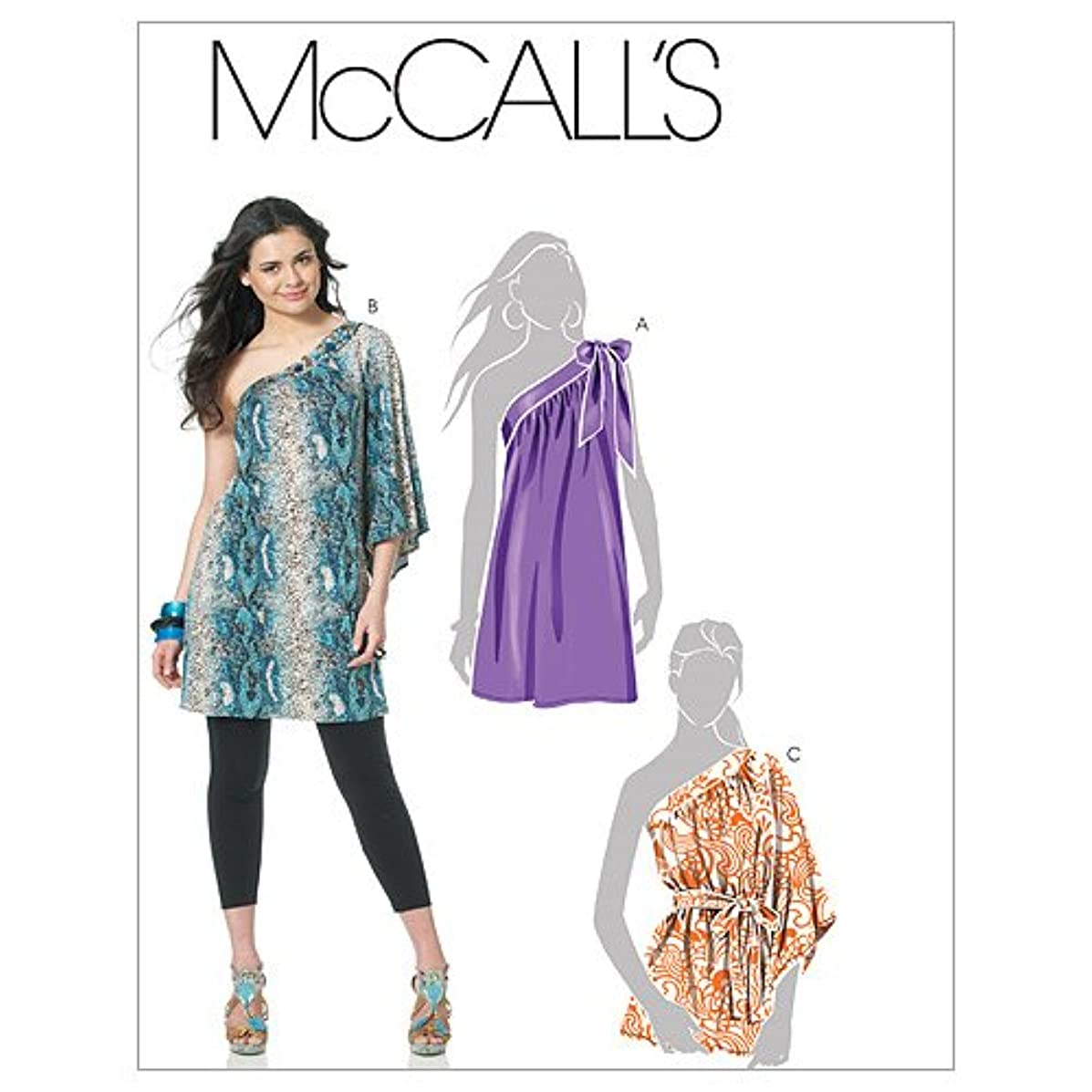 McCall's Patterns M6118 Misses' Tunics and Sash, Size AX5 (4-6-8-10-12)