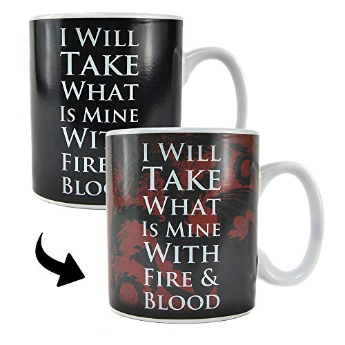 Game Of Thrones Taza Cambio de Color Daenerys, 1